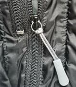 Grey HEAVY DUTY ZIPPER ZIP REPAIR ENDURA DARE2B GORE DHB BERGHAUS CASTELLI CUBE